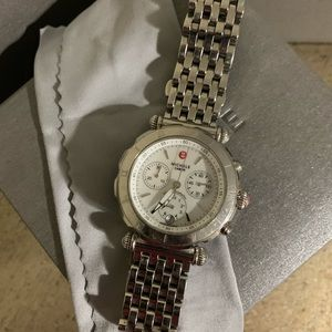 Michele Caber Chronograph watch. Used.